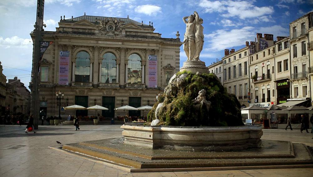 Montpellier, une ville aux multiples facettes…