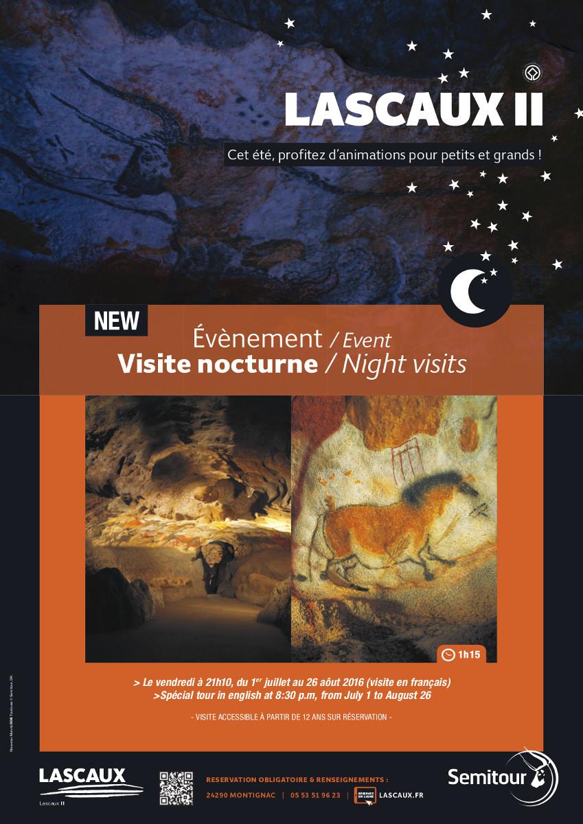 Les nocturnes à Lascaux II