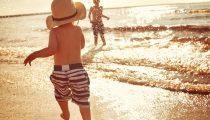 La plage avec les enfants : trucs et astuces.