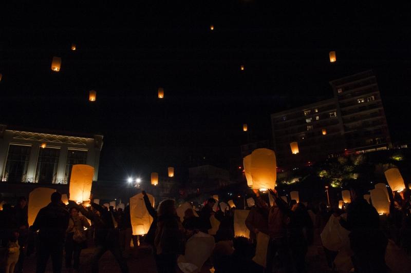 Les lanternes célestes de Biarritz