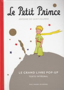 Première de couverture du livre le Petit Prince
