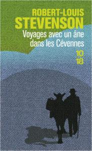 Première de couverture du livre Voyages avec un âne dans les Cévennes